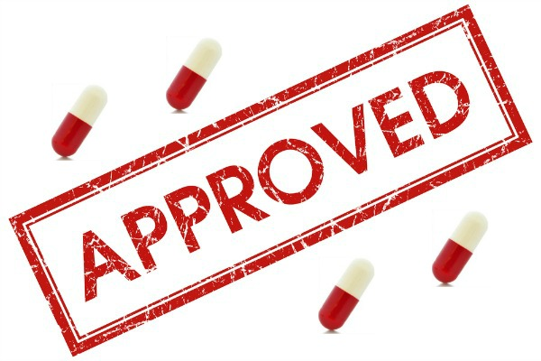 approved with pills